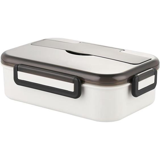 學生不銹鋼保溫飯盒分格分隔型可愛少女上班族微波爐便攜便當盒帶