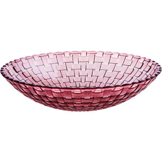 水果盤 居家家 透明干果盤家用過年茶幾糖果盤 創意客廳瓜子盤塑料零食盤