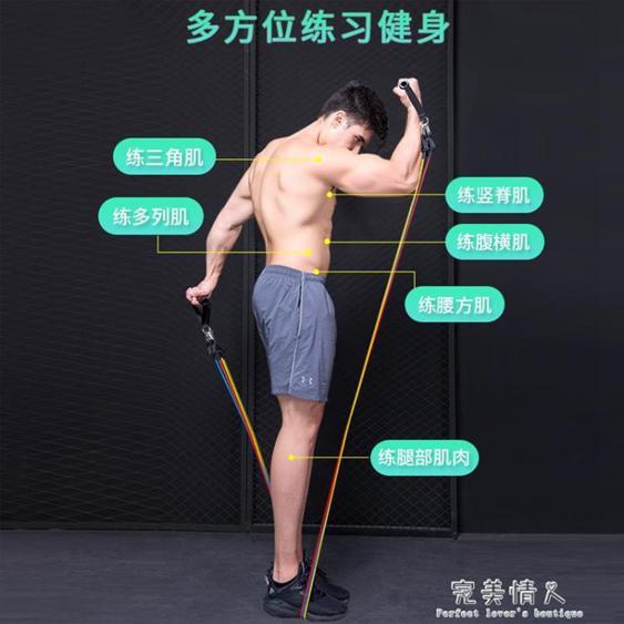 彈力繩拉力繩鍛煉訓練胸肌擴胸臂力練臂肌男女阻力帶健身器材家用