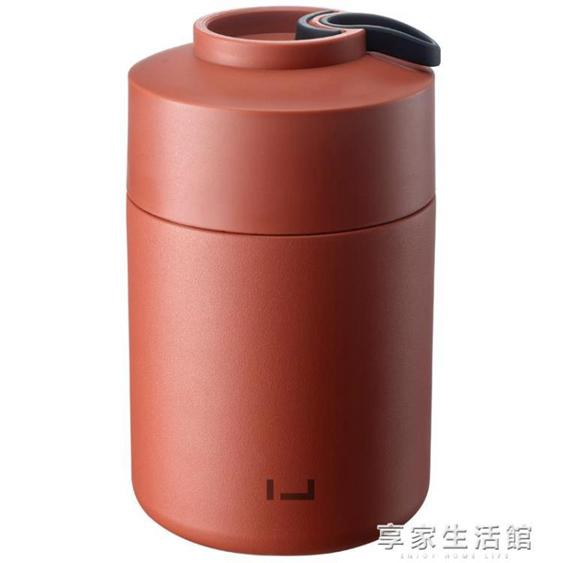 小型燜燒杯女悶燒壺燜粥不銹鋼保溫飯盒學生 1人便攜保溫桶燜燒罐