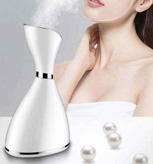 熱噴蒸臉儀器家用補水儀蒸汽美容儀納米噴霧便攜式家用 夏洛特居家名品