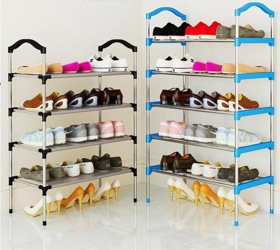 鞋架多層簡易家用經濟型省空間組裝防塵鞋柜櫃宿舍門口小鞋架子 夏洛特居家名品