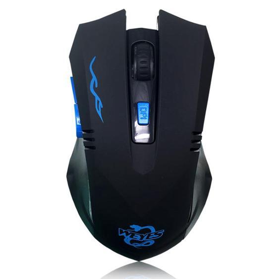 WEYES無線游戲滑鼠可充電無聲靜音cf lol電競筆記本臺式電腦大手