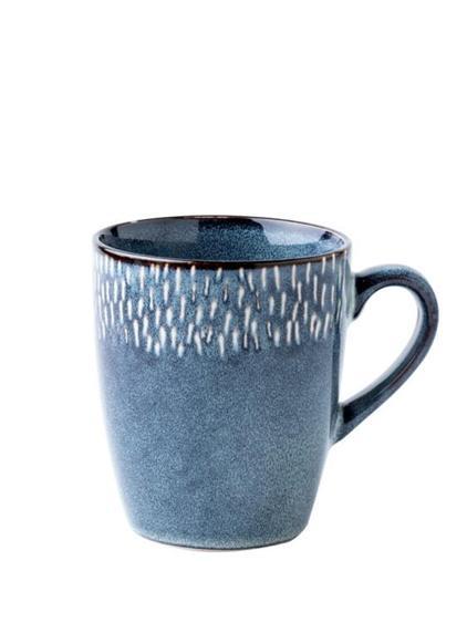 水杯 歐式復古陶瓷大杯子 北歐ins簡約水杯 家用個性馬克杯藍色咖啡杯