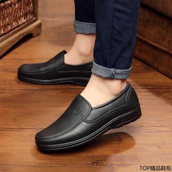 夏雨鞋男士水鞋男防滑防水防潑水廚房廚師牛筋工作鞋膠鞋低筒短筒雨靴