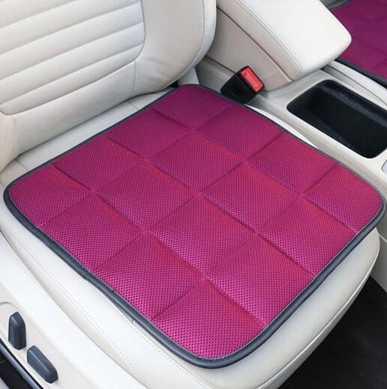 坐墊汽車坐墊夏季單片座椅墊蕎麥殼透氣冰絲座墊通用無靠背車涼席墊子