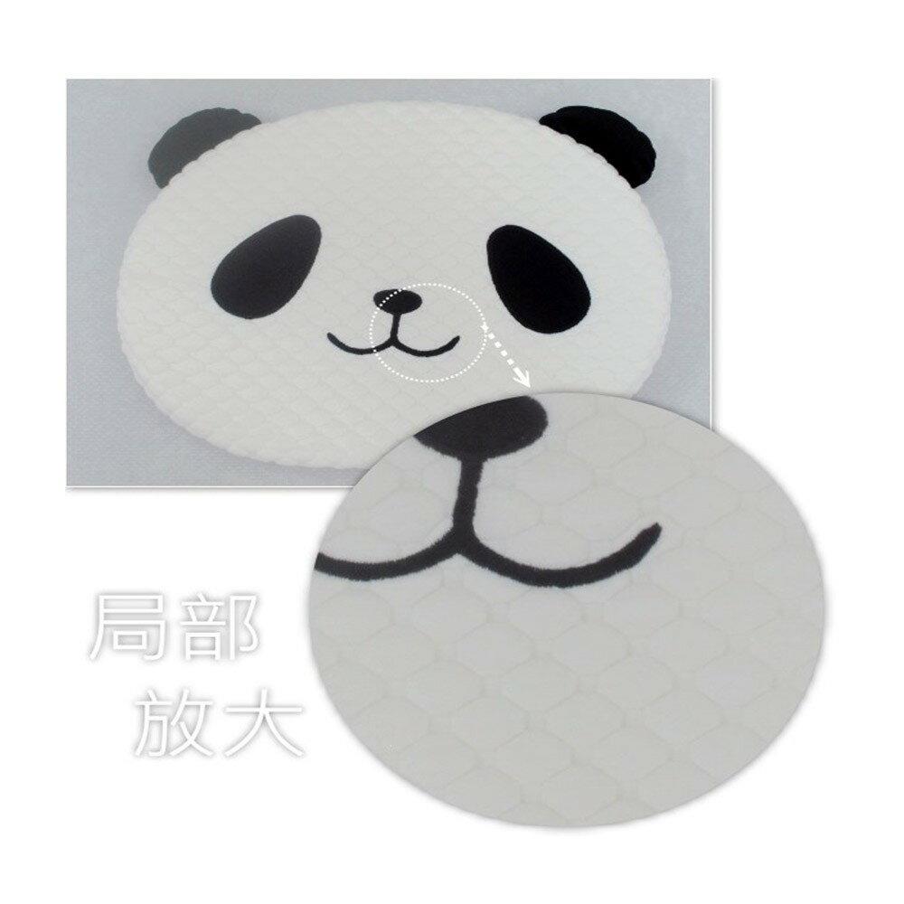 【J&N】熊貓造型座墊/2入/1組  SUPER SALE樂天雙12購物節
