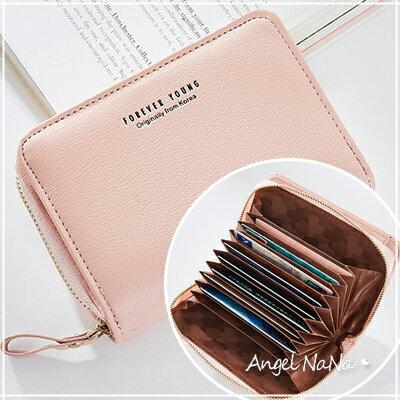 短夾-多卡位大容量風琴卡包女皮夾AngelNaNa【MA0239】