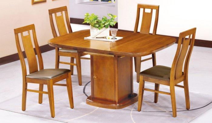 ~尚品傢俱~JF~956~2 南平柚木方型摺桌