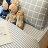 《限時免運》經典韓系歐巴格紋 單 / 雙 / 加大 / kingsize 組合賣場 100%復古純棉 台灣製 床包 / 寢具 / 兩用被 6