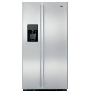 贈送 象印咖啡機 美國 GE奇異(702L)薄型對開門冰箱【ZFSB25DSS】