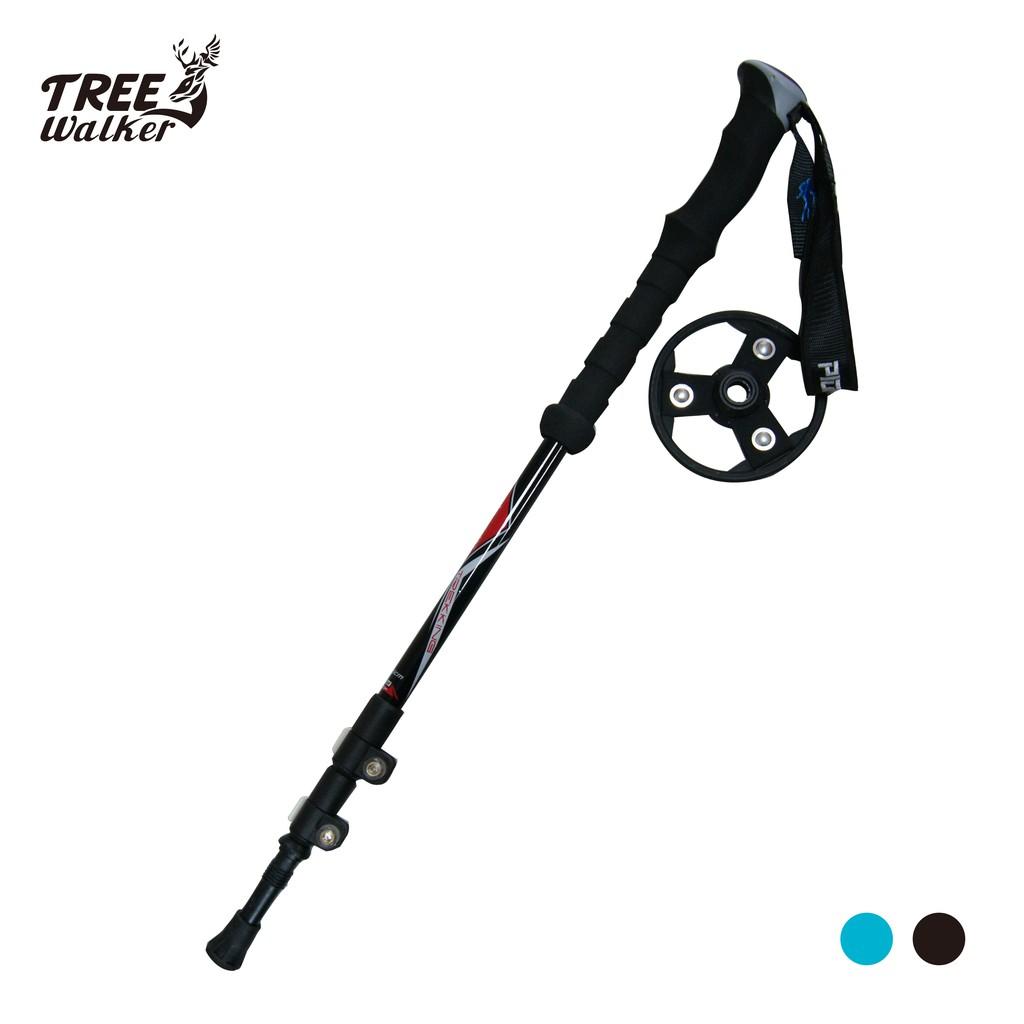 【Treewalker露遊】開拓者80%碳纖維登山杖 pioneer 德國GS認証 超輕助力杖 (二色)