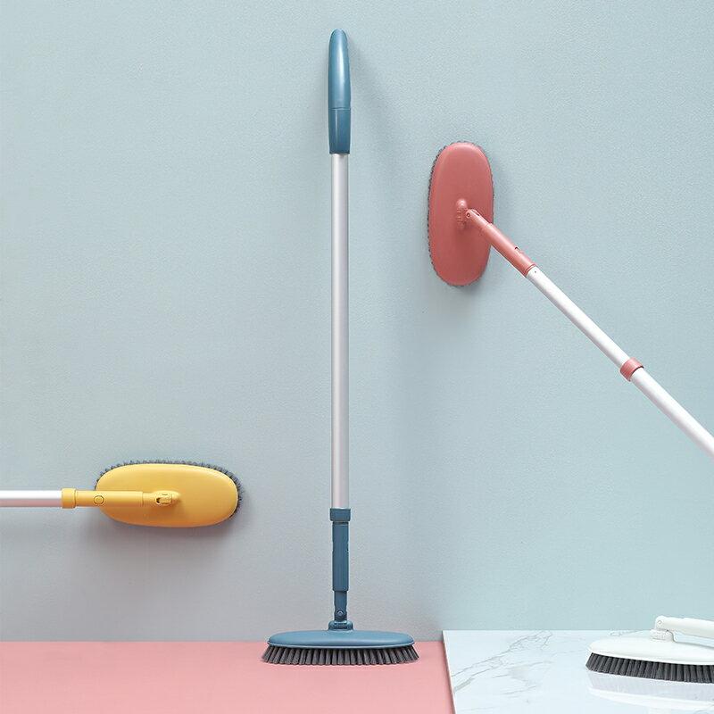 長柄地板刷家用浴室地磚刷洗廁所刷子 雙十二