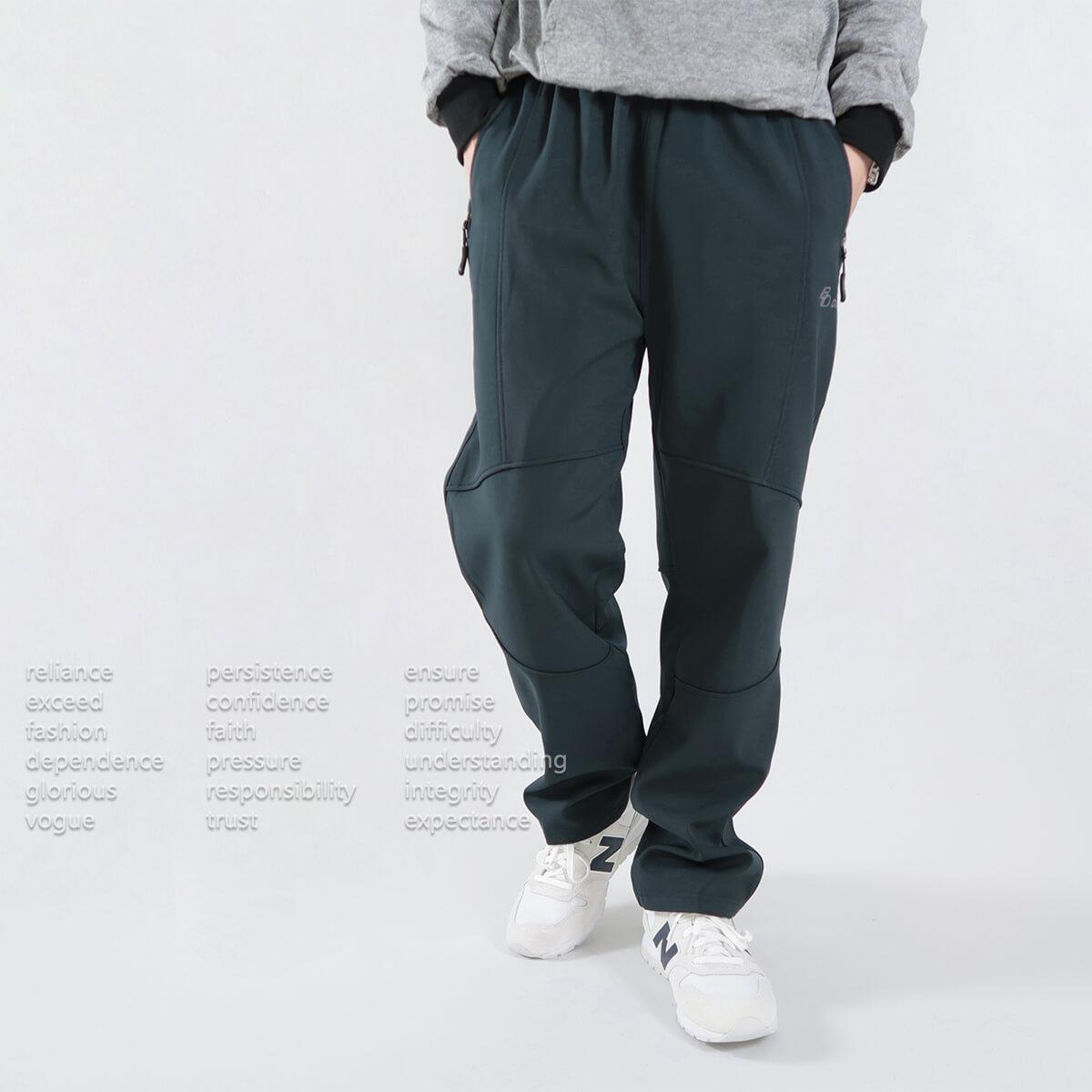 保暖厚刷毛軟殼褲 防風防潑水透氣保暖衝鋒褲 保暖褲 內裡刷毛褲 休閒長褲 黑色長褲 WARM THICK FLEECE LINED SOFTSHELL PANTS OUTDOOR PANTS (321-356-08)深藍色、(321-356-21)黑色、(321-356-22)藍綠色 腰圍M L XL 2L(28~40英吋) [實體店面保障] sun-e 4