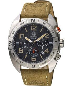 Timberland 天柏嵐 TBL.13670JS/02A極致探險計時腕錶/黑面44mm