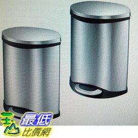 [COSCO代購 如果沒搶到鄭重道歉] EKO 5.9 公升不鏽鋼 垃圾桶2入 _W801754