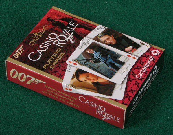 【Playwoods】[博弈Casino] 007電影獨家授權:James Bond 詹姆士龐德限量德州撲克版卡精品~皇家夜總會