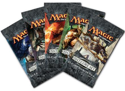 【Playwoods】[卡片遊戲-MTG萬智牌/魔法風雲會](M12 Core-2012核心系列):英文版補充包5包