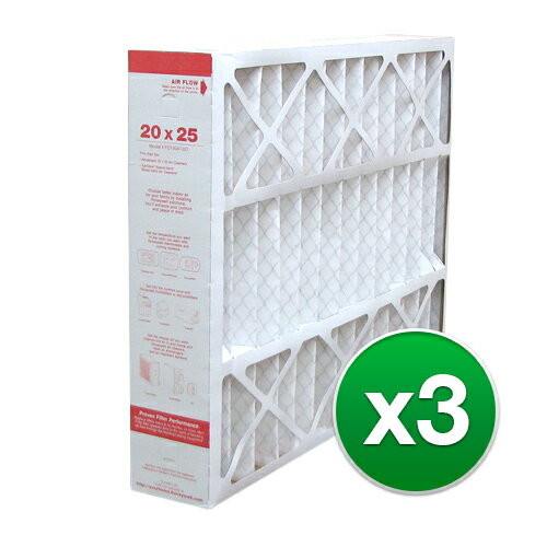 Replacement Honeywell 20x25x4 Air Filter MERV 11 - 3 Pack 632f92e634888eddb8f5fee02b67c5ca