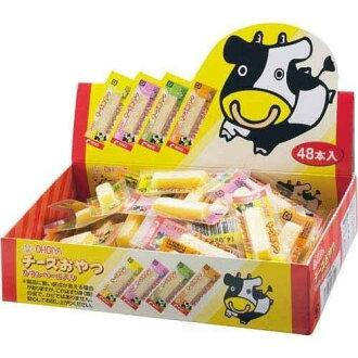 日本直送 OHGIYA 扇屋 鱈魚起司條 (48入) 一口起士條 乳酪 起司條 真空小包裝