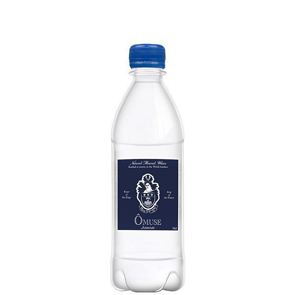 OMUSE Natural Mineral Water, Still 英國歐慕仕貴族天然礦泉水 - 500ml