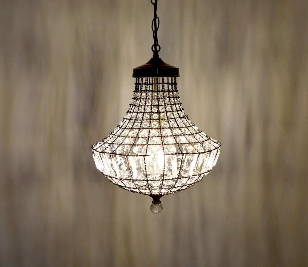 古銅提籠水晶吊燈-BNL00106 5