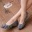 格子舖*【AW925】MIT台灣製 超值蝴蝶結毛呢混色毛料 尖頭平底包鞋 娃娃鞋 2色 - 限時優惠好康折扣