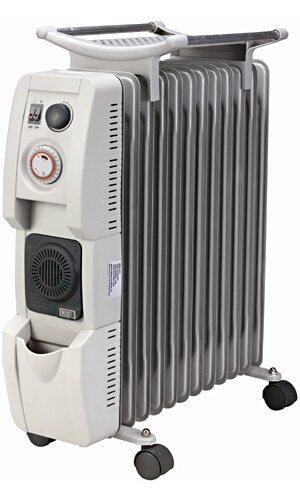 弘瀚科技勲風葉片式恆溫陶瓷電暖爐(12片)HF-2112