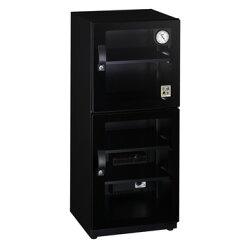 弘瀚--收藏家 123公升精品珍藏全能型電子防潮箱 CD-125  雙門彈性空間運用收納櫃