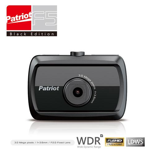 弘瀚行車紀錄器@愛國者F5 行車記錄器 車道偏移 前車預警 WDR智慧停車監控(超值送16G SD卡+G-MOUSE+HDMI線)