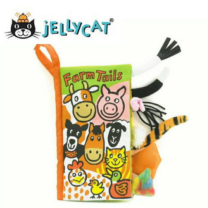★啦啦看世界★ Jellycat 英國玩具 / 農場 動物感官刺激布書 彌月禮 出生禮 月子 共讀 嬰兒 寶寶 閱讀 出生