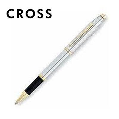 【CROSS】新世紀系列 3304 金鉻鋼珠筆 / 支