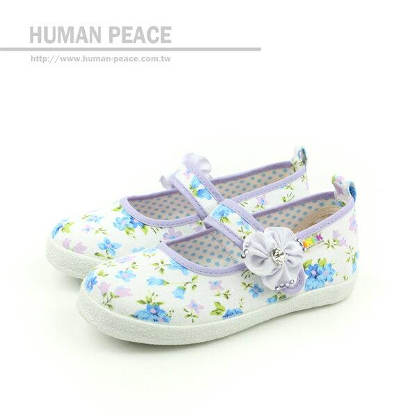 MINI-K 休閒鞋 白/紫 中童 no010