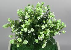★超低價★12頭泡沫果(綠白)/ 人造花 空間 景觀 佈置 造景