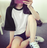 輕尚恬氛.百搭撞色拼接圓領短袖T恤- shiny藍格子【D866】★7 / 1-7 / 3   599折50★ 6