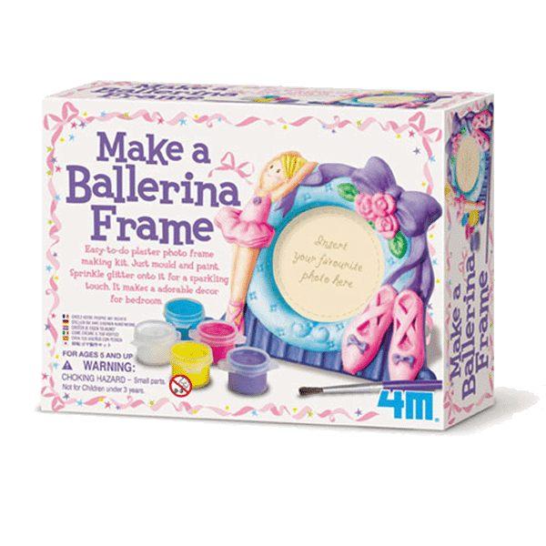 【4M】美勞創作系列-芭蕾舞者的相框 MAKE A BALLERINA FRAME 00-