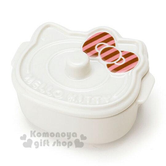 Hello Kitty 日製陶瓷附蓋造型碗