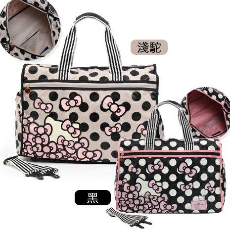 HELLO KITTY × Hallmark聯名收納旅行袋-花園凱蒂