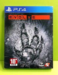 [刷卡價] (全新現貨) PS4 惡靈進化 EVOLVE 亞洲 中文版 初回版