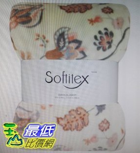 [COSCO代購如果售完謹致歉意]W114039Softitex印花薄毯233x248公分300GSM