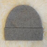 保暖配件推薦紐西蘭貂毛羊毛帽*天然色(奶茶/淺咖啡牛奶)