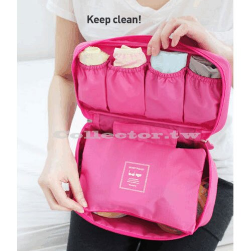 韓版 旅行多功能內衣收納包 貼身衣物收納包 手提式旅行盥洗包