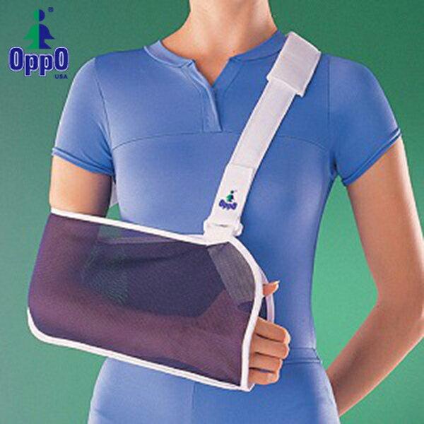 【OPPO】護具-透氣網製吊手袋手臂骨折吊帶3289