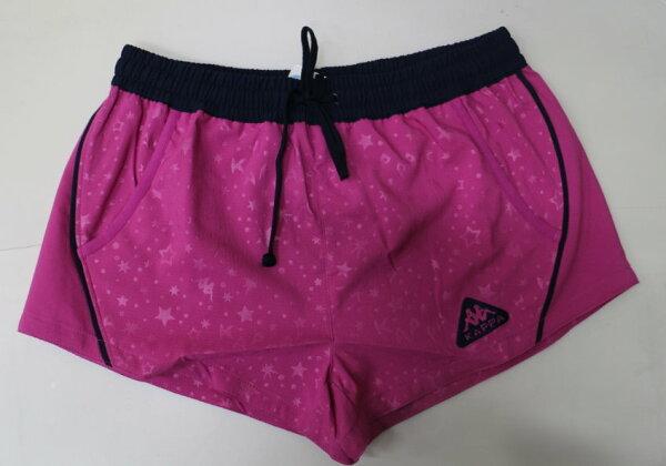 [陽光樂活]KAPPA女款LADIES'3D單層短褲FB52-6301-93