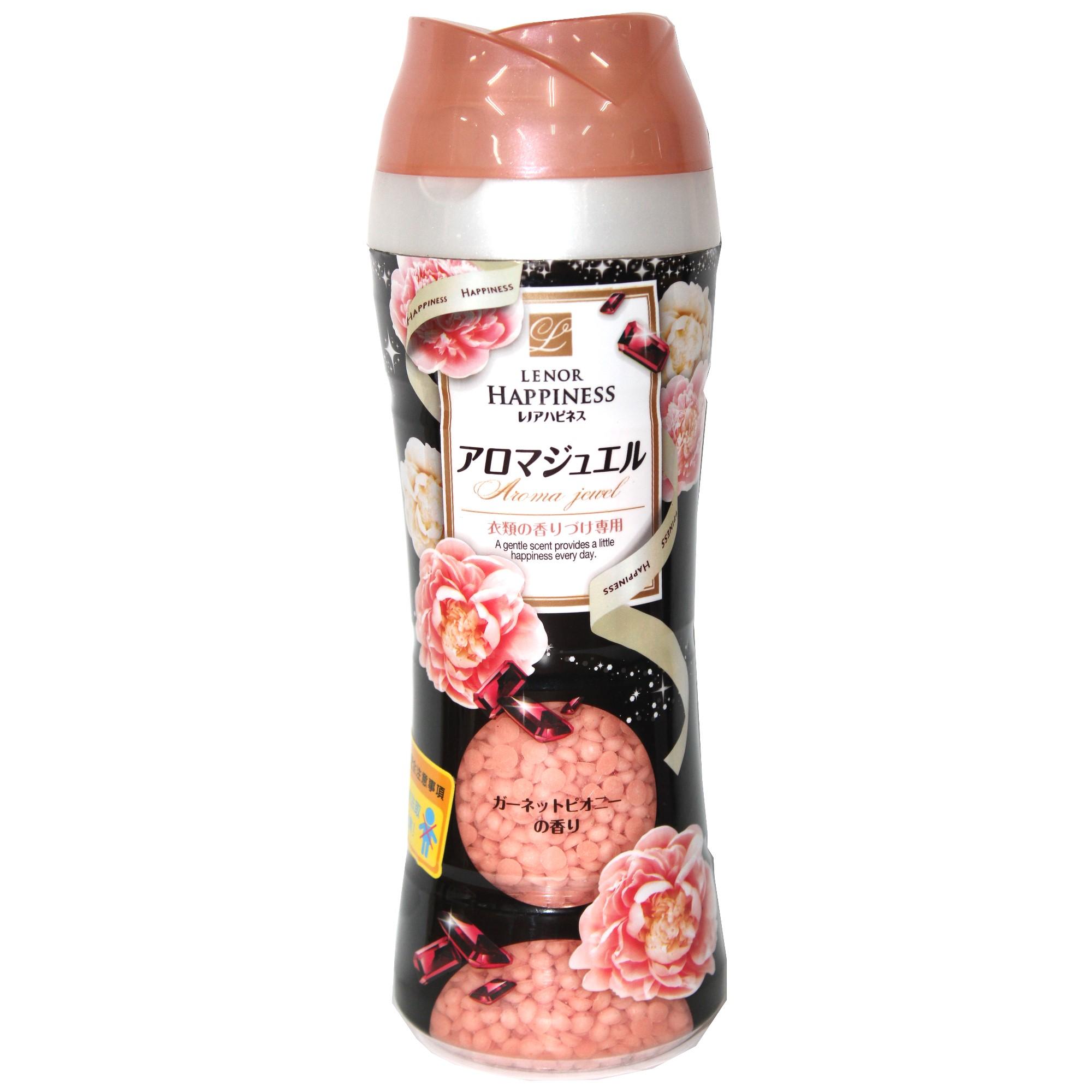 日本 P&G LENOR 洗衣芳香顆粒-石榴牡丹 375g
