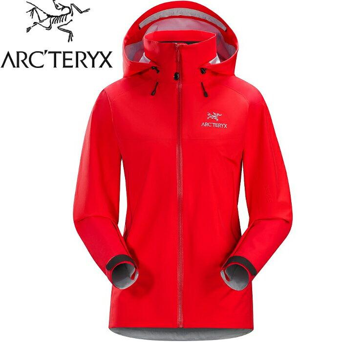 Arcteryx 始祖鳥 登山風雨衣/防水透氣GTX外套 20319 Beta AR 女 Gore-Tex Pro 亮紅