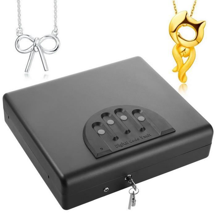 Pistol security box with electric lock 3
