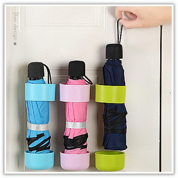 【aife life】黏貼式傘架-小/雨傘收納架/可調高度/黏貼式傘架/整理架/瀝水置物架/集水傘桶/萬用收納