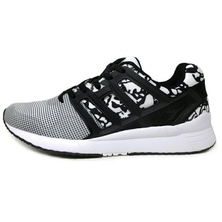 【巷子屋】義大利國寶鞋-DIADORA迪亞多納 女款流行運動慢跑鞋 [6038] 黑白
