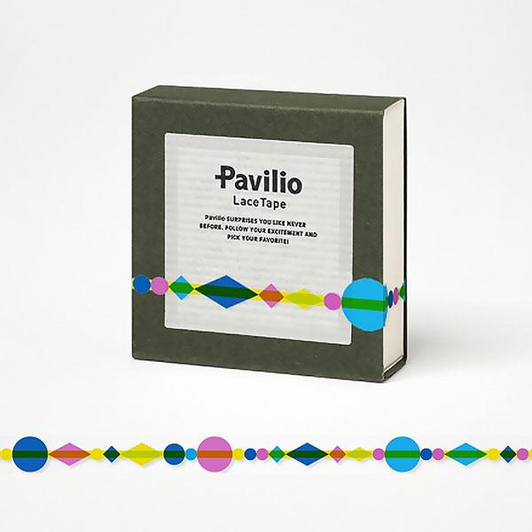 【日本Pavilio】風格膠帶MINI系列F-MI22BY黃珠簾捲
